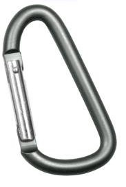 Карабин JUMBO 80MM FOLIAGE GREEN ACCESSORY CARABINER
