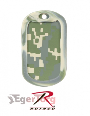 Глушители для жетонов  -  8595 ARMY DIGITAL CAMO DOG TAG SILENCERS