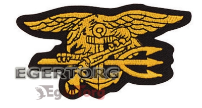 Нашивка  -  1583 Rothco Seal Team Trident Patch