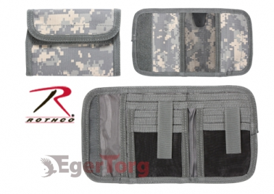 Кошелек  -  11640 DELUXE ARMY DIGITAL TRI-FOLD ID WALLET
