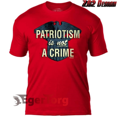Футболка 'Patriotism is not a Crime' 7.62 Design Premium