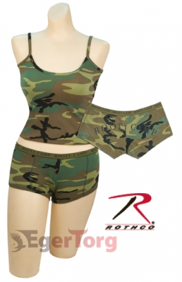 Топ   -  4476 WOMEN'S WOODLAND TANK TOP