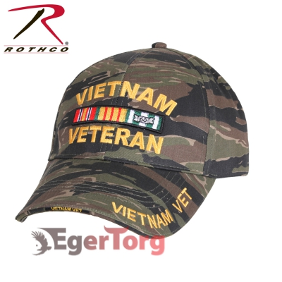 БЕЙСБОЛКА VIETNAM VETERAN TIGER STRIPE
