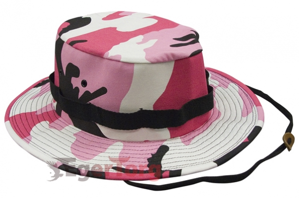 Панама PINK CAMO JUNGLE HATS