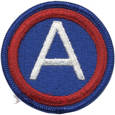 Нашивка плечевая   ARCENT     -  72101 U.S. Army 3rd Army   ARCENT    Color Patch