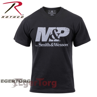 Футболка Smith and Wesson Distressed MP Logo
