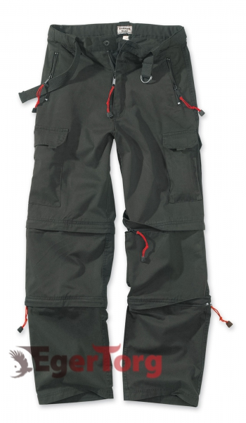 Брюки SURPLUS TREKKING TROUSERS BLACK