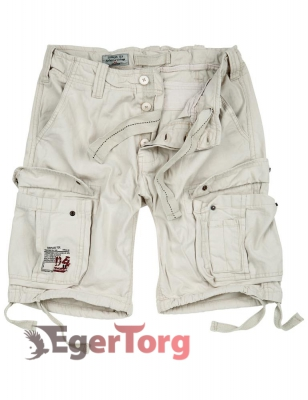 Шорты SURPLUS AIRBORNE VINTAGE SHORTS OFF WHITE