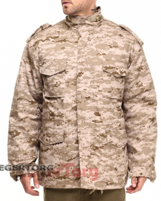 КУРТКА М-65 ROTHCO FIELD JACKET DESERT DIGITAL CAMO