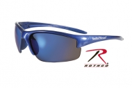 Очки солнцезащитные  -  10616 SMITH     WESSON EQUALIZER SUNGLASSES - BLUE WITH BLUE MIRROR LENS