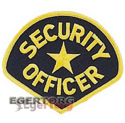 Нашивка SECURITY OFFICER  -  1686 ROTHCO SECURITY OFFICER PATCH