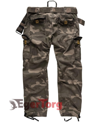 Брюки SURPLUS PREMIUM VINTAGE TROUSERS BLACKCAMO