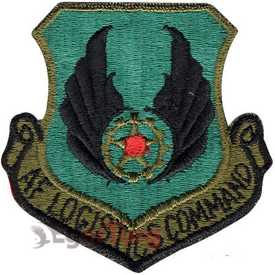 Нашивка плечевая   Air Force Logistics Command     -  72118 U.S.A.F. Air Force Logistics Command Color Patch