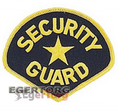 Нашивка SECURITY GUARD   -  1685 SECURITY GUARD PATCH