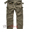 Брюки SURPLUS PREMIUM VINTAGE TROUSERS OLIVE WASHED