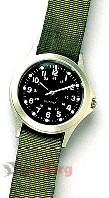 Часы кварцевые  -  4127 MILITARY STYLE QUARTZ WATCH