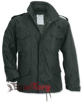Парка SURPLUS US FIELDJACKET M65 BLACK