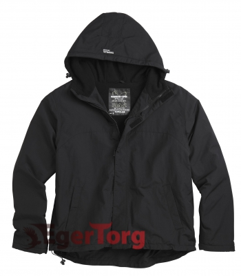 ВЕТРОВКА SURPLUS WINDBREAKER BLACK