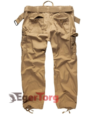 Брюки PREMIUM VINTAGE TROUSERS BEIGE WASHED