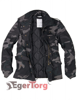 Парка SURPLUS US FIELDJACKET M65 BLACKCAMO
