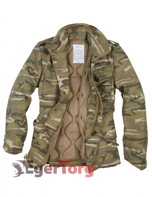 Парка SURPLUS US FIELDJACKET M65 DESERTLIGHT