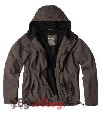 ВЕТРОВКА SURPLUS WINDBREAKER BROWN