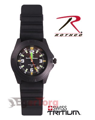 Часы S   W с тритием  -  4315 SMITH     WESSON TRITIUM SOLDIER WATCH
