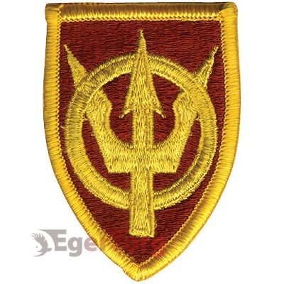 Нашивка плечевая   4th Transportation Command     -  72117 U.S. Army 4th Transportation Command Color Patch