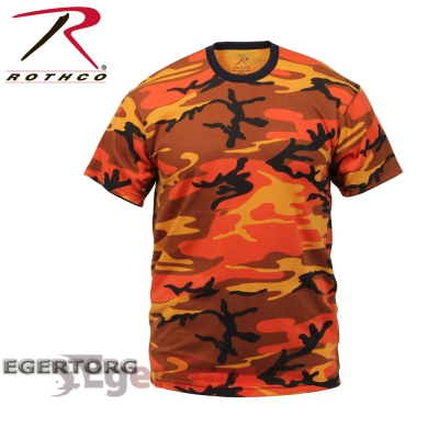 Футболка SAVAGE ORANGE CAMOUFLAGE