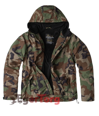 ВЕТРОВКА SURPLUS WINDBREAKER FOREST CAMO
