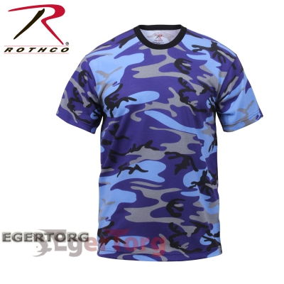 Футболка ELECTRIC BLUE CAMOUFLAGE