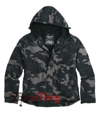 ВЕТРОВКА SURPLUS WINDBREAKER BLACK CAMO