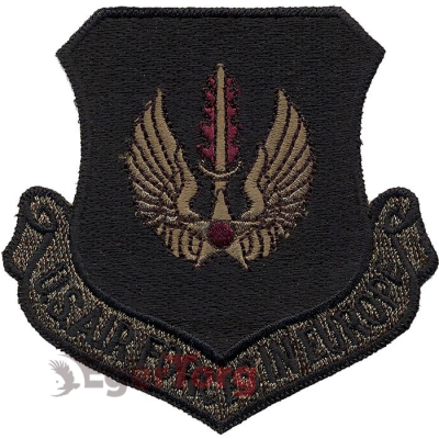 Нашивка плечевая   USAF In Europe     -  72120 U.S.A.F. USAF In Europe Color Patch