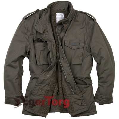 Куртка SURPLUS PARATROOPER WINTER JACKET OLIVE WASHED