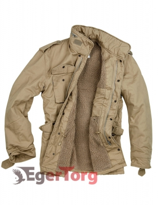 Куртка SURPLUS PARATROOPER WINTER JACKET BEIGE WASHED