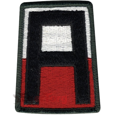 Нашивка плечевая   First In Deed     -  72127 U.S. Army 1st Army   First In Deed    Color Patch