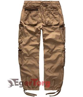 Брюки SURPLUS AIRBORNE VINTAGE TROUSERS BEIGE WASHED