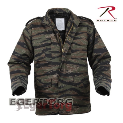 КУРТКА М-65 ROTHCO FIELD JACKET TIGER STRIPE