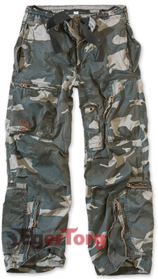 Брюки SURPLUS INFANTRY CARGO NIGHTCAMO