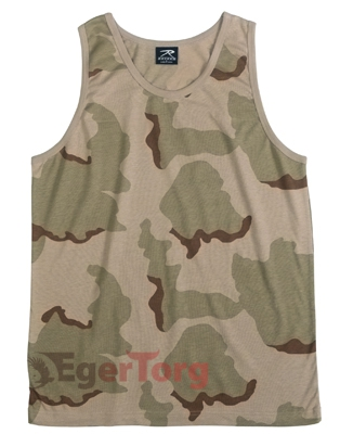 Tank Top Tri-Color Desert Camo