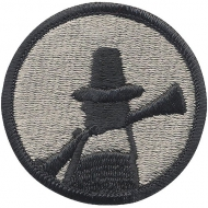 Нашивка плечевая   Pilgrim Division     -  72124 U.S. Army 94th Army Reserve Command   Pilgrim Division    Color Patch