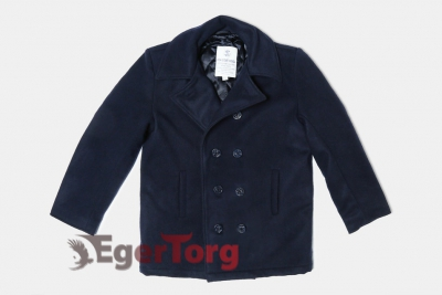 БУШЛАТ ШЕРСТЯНОЙ US NAVY PEA COAT​