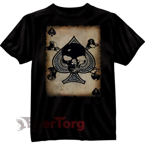 BLACK INK - DEATH CARD T-SHIRT