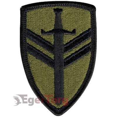 Нашивка плечевая   2nd Support Command     -  72143 U.S. Army 2nd Support Command Subdued Patch