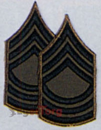 Нашивка мастер-сержанта  -  1636 MASTER SERGEANT SUBDUED CHEVRON PATCH