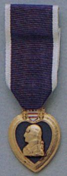 Декоративная медаль   PURPLE HEART     -  1951 PURPLE HEART MEDAL
