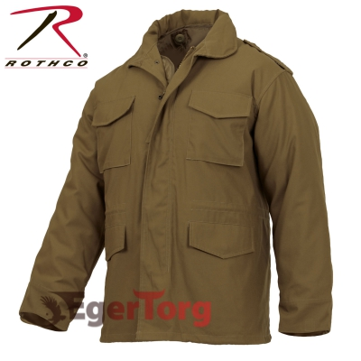 КУРТКА М-65 ROTHCO FIELD JACKET COYOTE BROWN