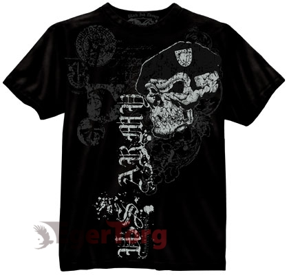 Футболка BLACK INK US ARMY SKULL WITH BERET