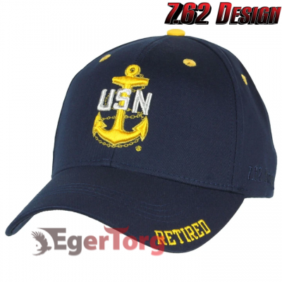 Бейсболка US Navy Retired Chief Twill Hat