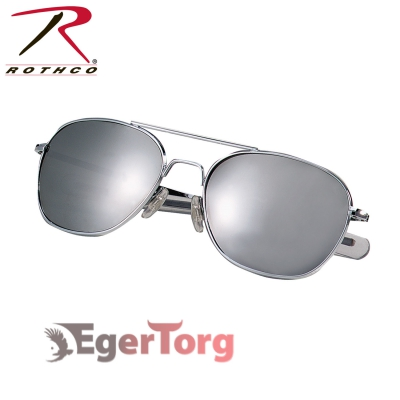 ОЧКИ ВВС США G.I. TYPE 52mm SUNGLASSES Chrome / Mirror